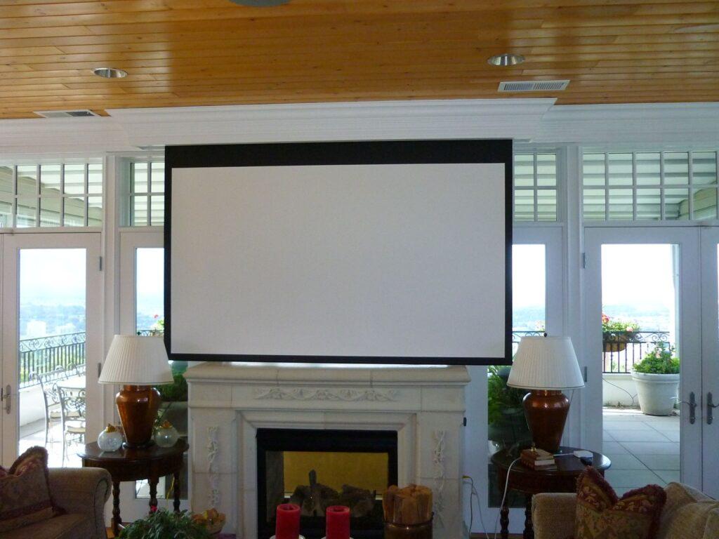 media projector screen