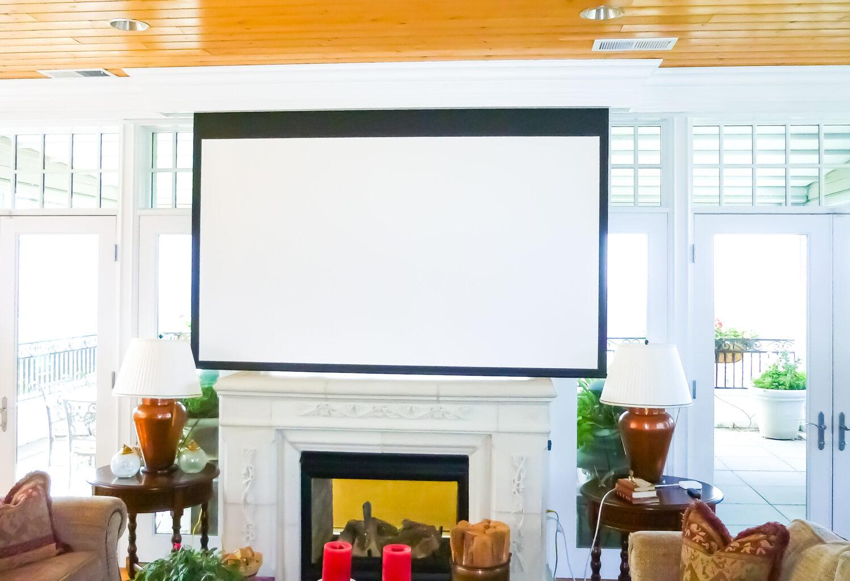 media projector screen-2